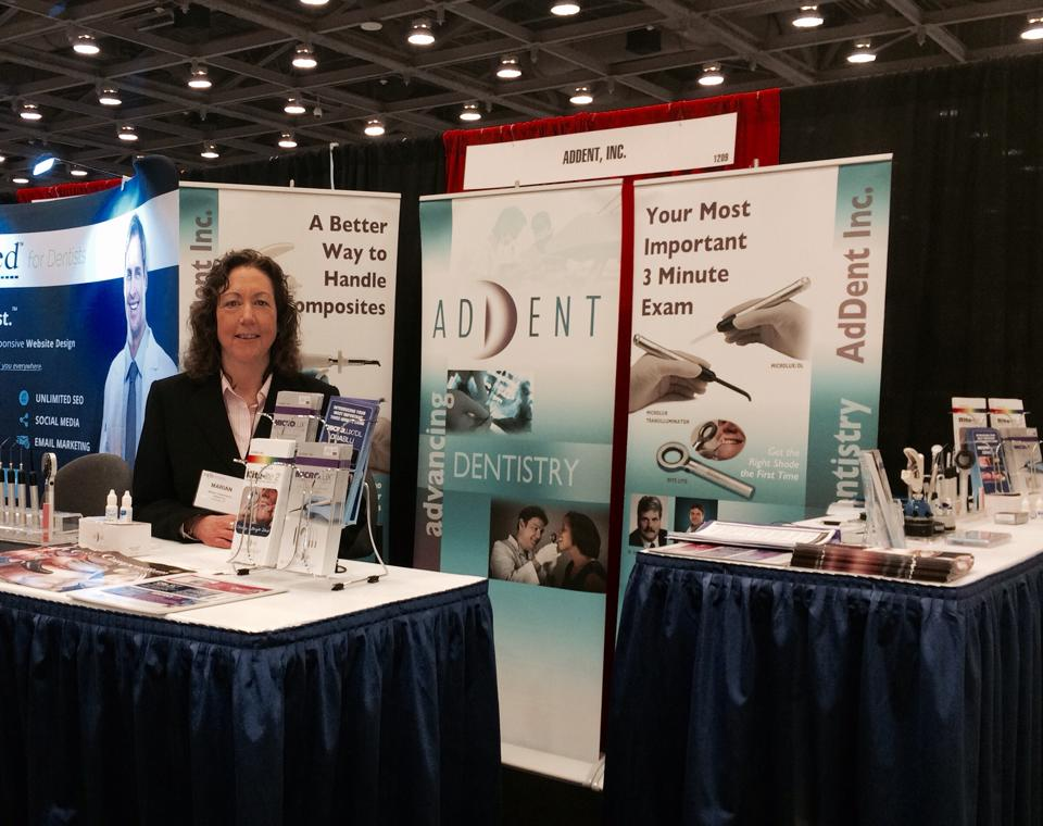 Addent, Inc. at a tradeshow