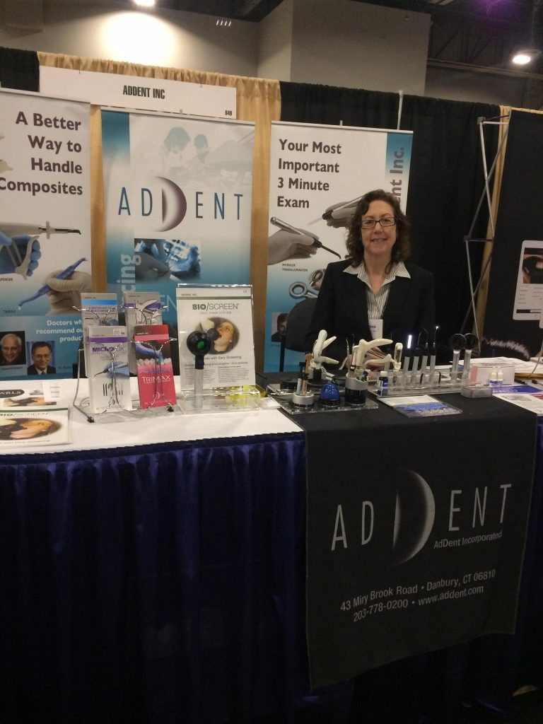 Addent, Inc. at the AACD Meeting